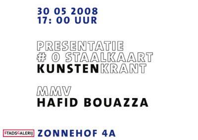 2008 05 kunstenkrantpresentatie
